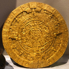 Picture of print of Aztec sun stone This print has been uploaded by Baron