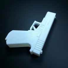 Picture of print of pistol