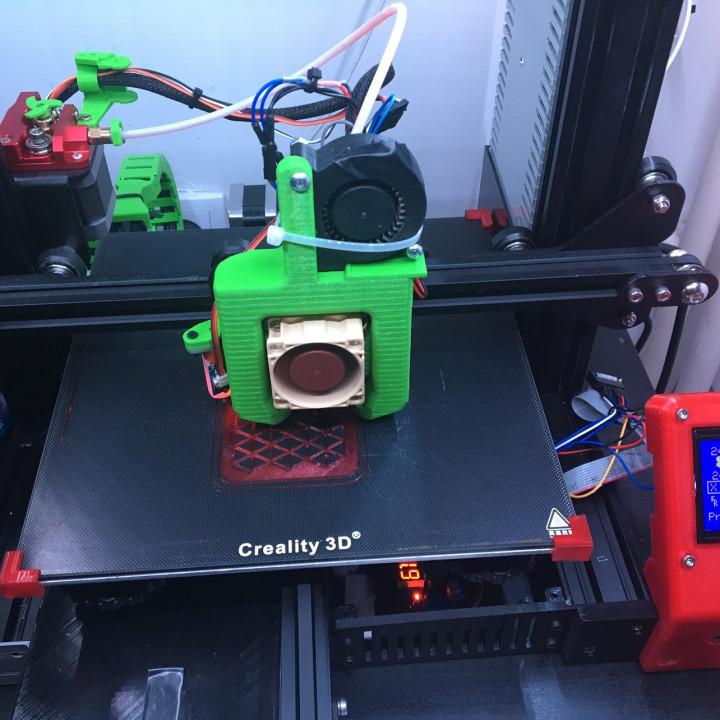 3D Printable Ender 3 Glass Bed Corner Clip by Bojan Kopanja