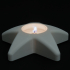 Tealight holder star image
