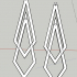 geometrical earrings image