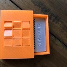 Tic Tac Toe Gift Card Box