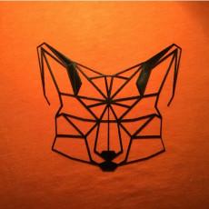 Low Poly 2D Fox