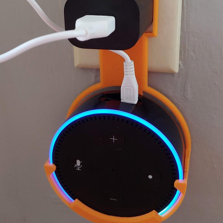 Echo Dot (2nd generation) Wall Mount