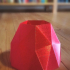 Low poly uv vase image