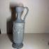 Greek vase print image