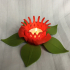Decorative flower Tealight image