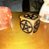 Pentagram electric candle box image
