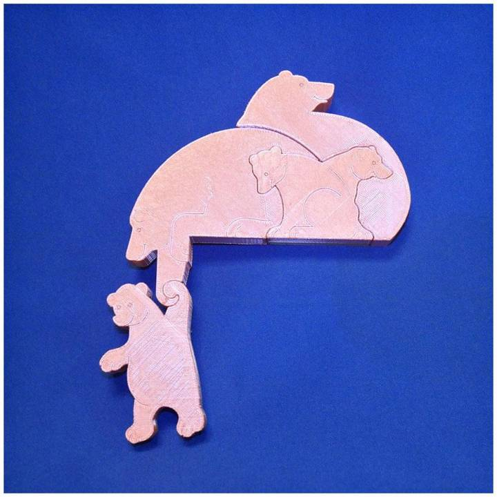 4 bears puzzle