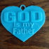 GOD is my Father Necklace image