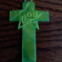 GOD lives Cross Star Wall Hanging or Pendant, Mirror hang for car!! image