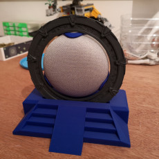 Picture of print of StarGate Display for Google home Mini