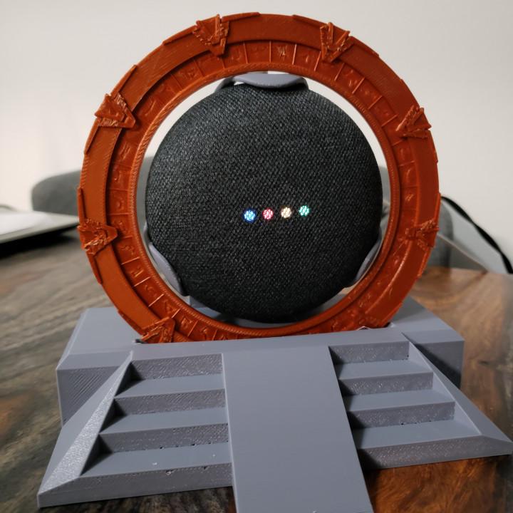 StarGate Display for Google home Mini
