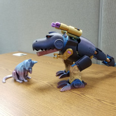 Picture of print of RoboKitty