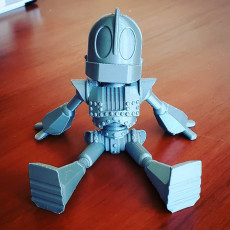 Picture of print of Lil' Iron Giant