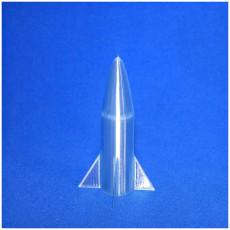 Picture of print of fusée faite par mon fils avec tinkercad