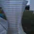 Crystal vase print image