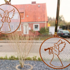 Angel Ornaments for your window