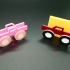 Business Card Holder - Multi Color Truck (incl. tutorial) image