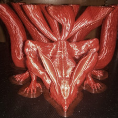 Picture of print of Nine-Tailed Demon Fox This print has been uploaded by Amedeo Bianco