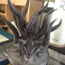 Picture of print of Nine-Tailed Demon Fox This print has been uploaded by Andy Su