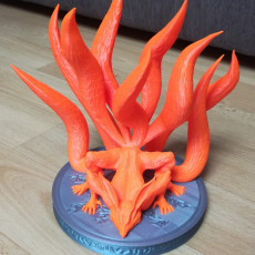 Picture of print of Nine-Tailed Demon Fox This print has been uploaded by Vlada Havel