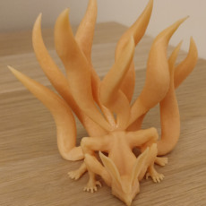 Picture of print of Nine-Tailed Demon Fox This print has been uploaded by Nuno Faria