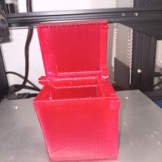 """Picture of print of Designing a Parametric """"Print in Place"""" Hinged Container Using Autodesk Fusion 360"""