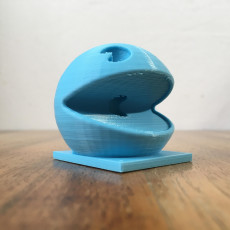 Picture of print of PAC MAN sound amplifier for echo dot