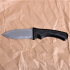 Serrated Spear-point Knife - Warrior Series image