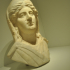 Bust of a goddess image