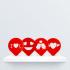 Valentine's Coffee Stencil image