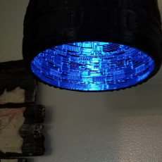 Picture of print of Sci-Fi Lamp Shade