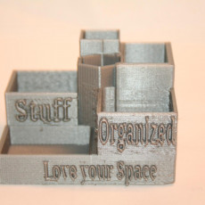 Picture of print of desk organiser