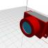 Lens holder for SmartiPi Touch camera case image