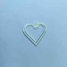 Picture of print of Hearts Clips Valentine´s day