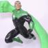 Green Lantern Hal Jordan and John Stewart (TORSO ONLY) image