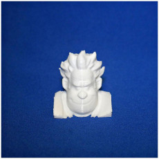 Picture of print of Wreck-it Ralph (HEAD ONLY)