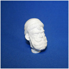 Picture of print of Articulated Badass Santa (HEAD ONLY)