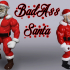 Articulated Badass Santa (HEAD ONLY) image