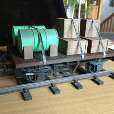 Flatbed Wagon for 16mm Scale Garden Railway