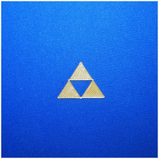 Picture of print of Triforce