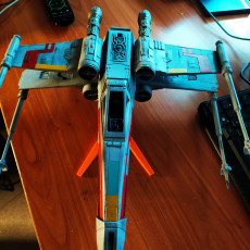 Picture of print of X-Wing