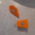 Climbing holds -- Fridge magnets image
