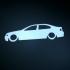 BMW e46 print image
