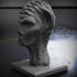 Alien monster head image