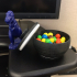 Candy Dish with Lid image