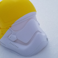 Picture of print of Stormtrooper Helmet 1:1 Scale 这个打印已上传 Thierry Deux