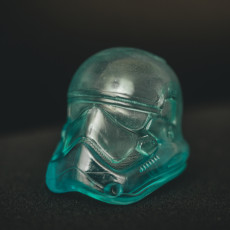 Picture of print of Stormtrooper Helmet 1:1 Scale