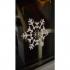 Christmas window stencil image